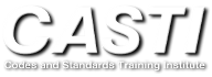 CASTI Codes and Standards Training Institiute